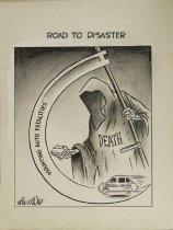 Image of Road to Disaster  - Wood, Art, 1927-