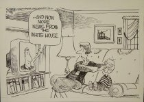 Image of ...And now more news from the White House. - Summers, Dana, 1950-