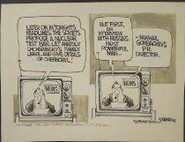 Image of Later on tonight's headlines,... - Summers, Dana, 1950-