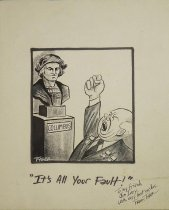 Image of It's all your fault! - Tyger, Frank, 1929-