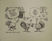 Image of Hey, what are you turkeys doing?  - Keefe, Mike, 1946-