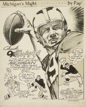 Image of Michigan's might - Paprocki, Thomas, 1901-1973