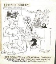 Image of Citizen Sibley  - Ericson, Dick