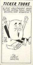 Image of Ticker Toons - Hurd, Justin (Jud), 1912-2005