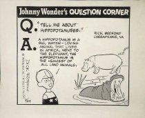 Image of Johnny Wonder's Question Corner - Rogers, Dick, 1929-