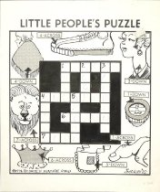 Image of Little People's Puzzle - White, Leo