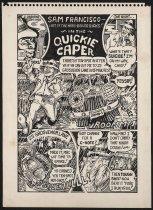 Image of The Quickie Caper - Osborne, James, 1943-2001