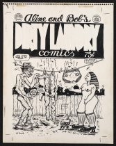 Image of Aline and Bob's Dirty Laundry Comics - Kominsky-Crumb, Aline, 1948-