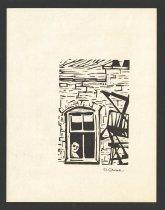 Image of [man looking out window] - Cilenšek, R.