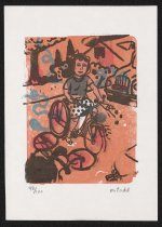 Image of [Woman Riding Bicycle] - Todd, Mark
