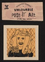 Image of Tammy Pierce is Unlovable Post-It Art - Watson, Esther Pearl, 1973-