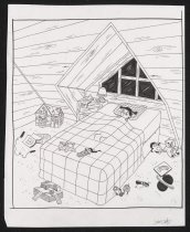 Image of [Young Julia lying in bed] - Wertz, Julia, 1982-