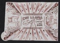 Image of Coy Llama brand chewing gum - McNaught, Jon