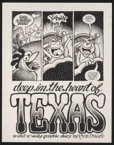 Image of Deep in the heart of Texas: a wild and wooly graphic story - Paley, Nina, 1968-