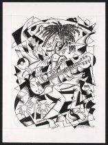Image of [Guitar player with dreadlocks] - Fleener, Mary