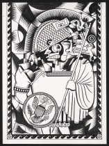 Image of [Roman man with eagle crest] - Fleener, Mary