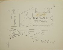 Image of Welcome to New York City: Mayor Edward I. Koch Center of Attention - Levin, Arnie, 1938-