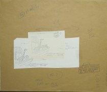 Image of Noah's Ark - bird delivering pizza - Levin, Arnie, 1938-