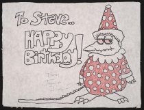 Image of To Steve... Happy Birthday! - Lucas, Tim 1956-