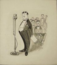 Image of [Man at microphone] - Small, Arthur Dale