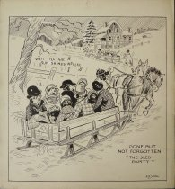 "Image of Gone but not forgotten ""the sled party"" - Small, Arthur Dale"