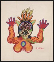 Image of [colorful demon illustration] - Hayes, Rory, 1949-1983