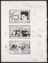 Image of It's a Young Boy's Fantasy - Monir, Carta