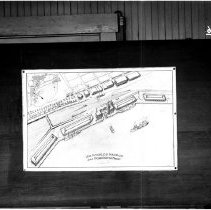 Image of 2009.1.0016 - PHOTOGRAPH OF PLAN FOR FERRY BUILDING, SAN PEDRO WATERFRONT.