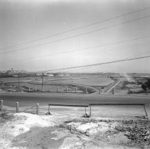 Image of 2009.11.0992-D - GENERAL VIEW, SHOWING 22ND STREET AND FORT MACARTHUR GUN EMPLACEMENT FILL.