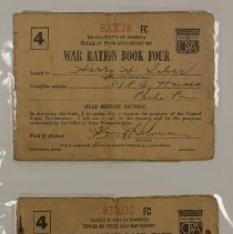 Image of Ration Book - #79