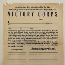 Image of Victory Corps - #8