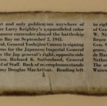 Image of Japan Surrender - #84