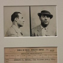 Image of Mug Shot, 1931 - D342.11
