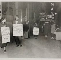 Image of Civil Rights Protest 1948 - J-PH20.09