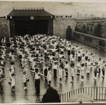 Image of J-PH27.11 - Children at Drill, 1934