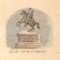 Image of KC0037V.PR.AG.S.F. - Equestrian Statue of Andrew Jackson