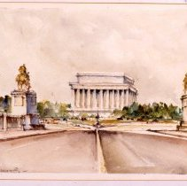 Image of KC0046.PT.AG.M.F. - Lincoln Memorial