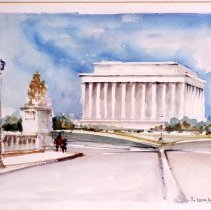 Image of KC0064.PT.AG.M.F. - Lincoln Memorial