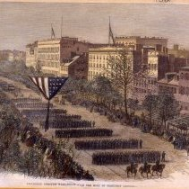 Image of KC0132.PR.AC.M.F. - Procession Through Washington with the Body of President Lincoln