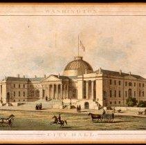 Image of KC0175.PR.AG.M.F. - City Hall, Washington