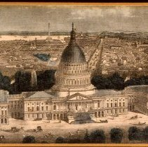 Image of KC0198.PR.AG.M.U. - U.S. Capitol, East Front with City Beyond