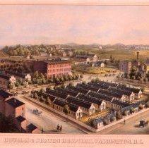 Image of KC0203.PR.AG.L.F. - Douglas & Stanton Hospitals (Civil War)