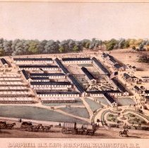 Image of KC0204.PR.AG.L.F. - Campbell U.S. General Hospital (Civil War)