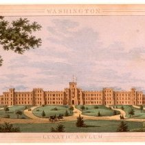 Image of KC0224.PR.AG.M.F. - Lunatic Asylum, Washington