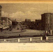 Image of KC0272.PR.SV.M.F. - View of Pennsylvania Avenue From the Treasury To the Capitol