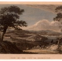 Image of KC0280.PR.LV.L.F. - View of Washington, D.C. From Georgetown Heights