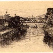 Image of KC0291.PR.WV.M.F. - C & O Canal in Georgetown