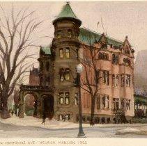 Image of KC0308.PT.AP.L.F. - Heurich Mansion , 20th Street & New Hamsphire Avenue, N.W.