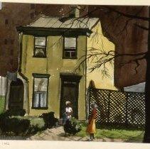 Image of KC0356.PT.AP.E.F. - House On 26th Street, N.W.