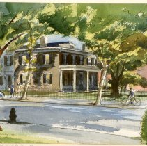 Image of KC0423.PT.AP.L.F. - The Brumidi House,  3rd and A Streets, S.E.